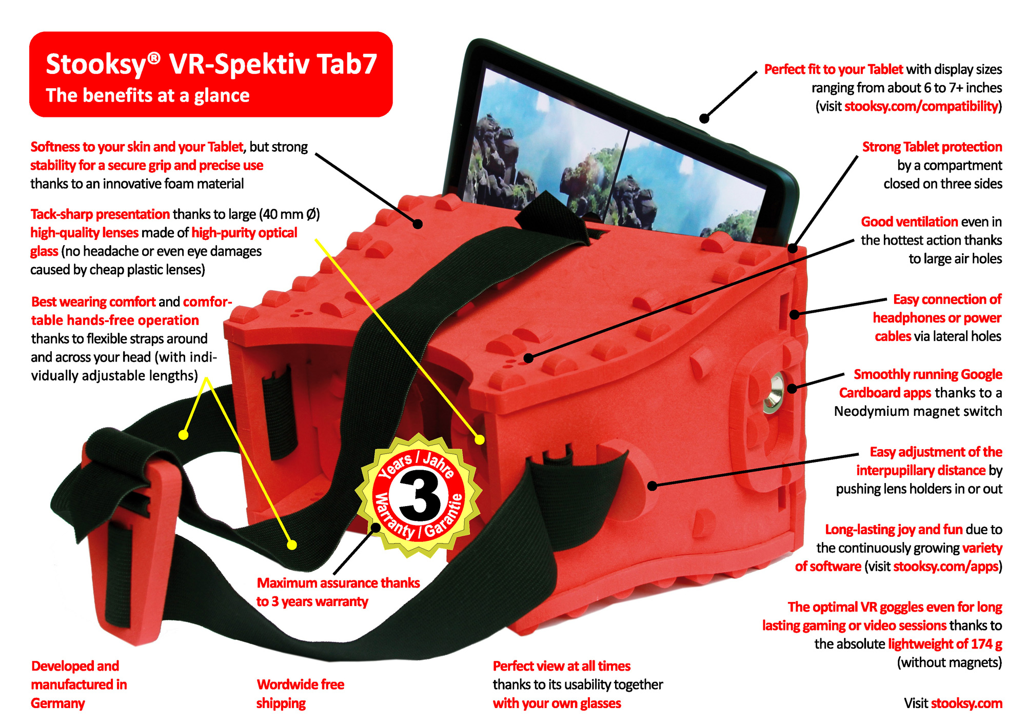 stooksy design products for life stooksy vr spektiv tab7 for