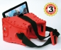 Stooksy® VR-Spektiv Tab7 for Tablet Computers with display sizes of about 7 inches, Red (3 Years Warranty)